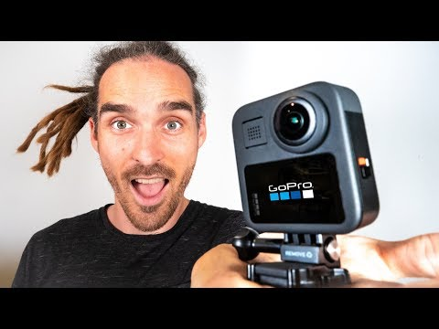 GoPro MAX Best Action Cam EVER! Hands On Review