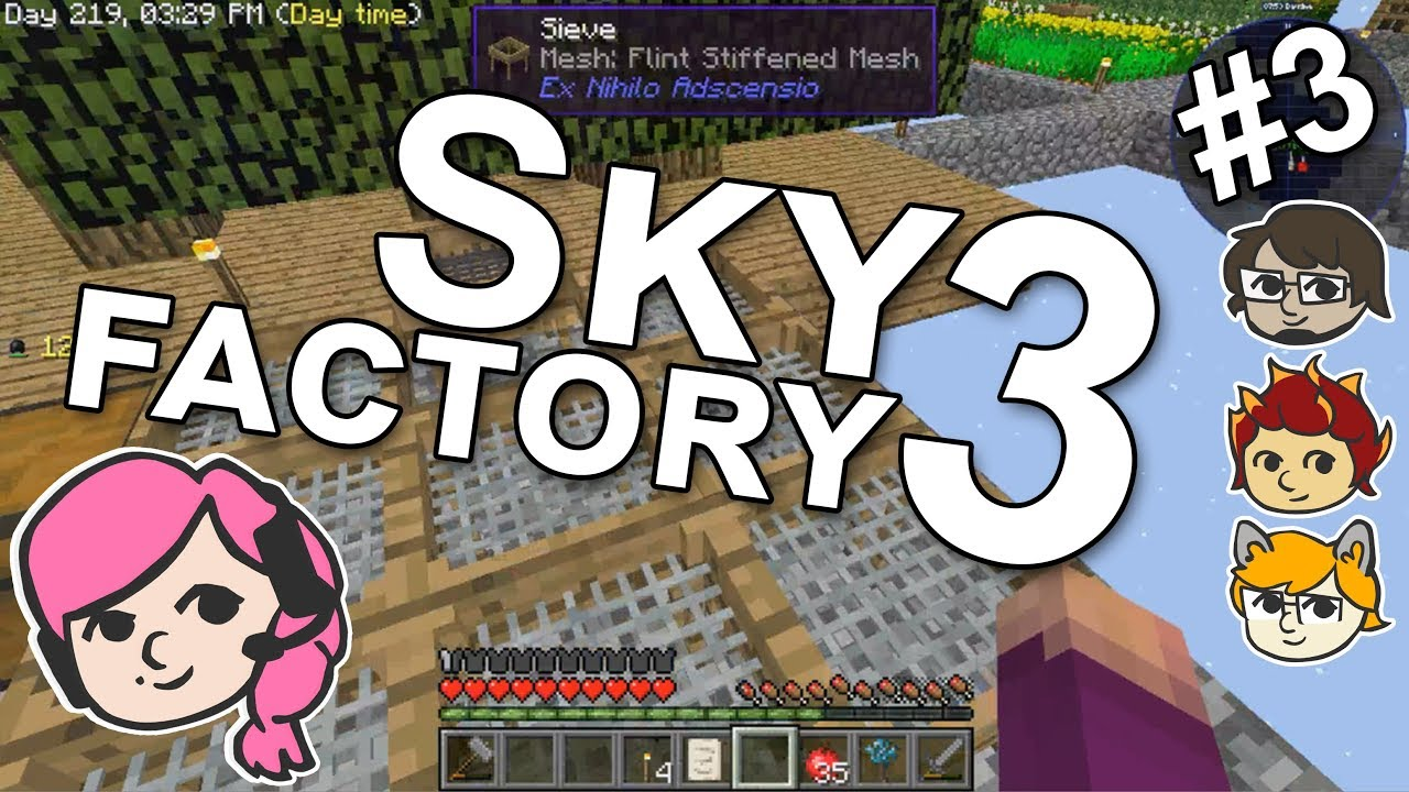 Minecraft FTB SkyFactory 3
