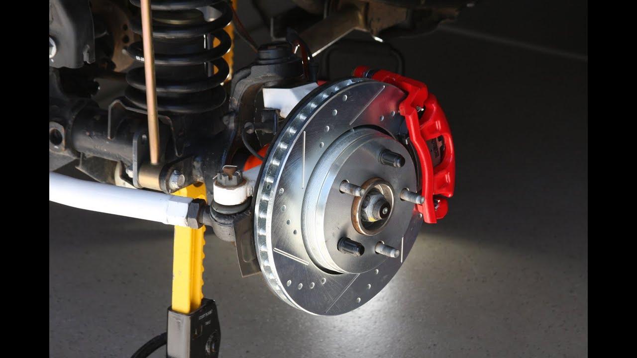 Powerstop Extreme Z36 Brake Upgrade On Jeep Wrangler