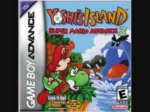 Yoshi's Island- Underground (GBA version)