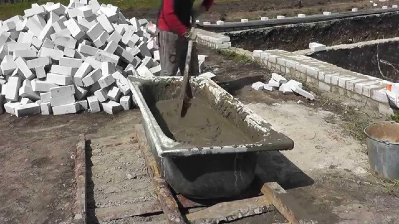 Цемент ЕвроЦемент М500 - YouTube
