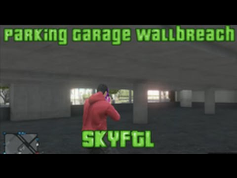 GTA5 New Inside Parking Garage And Under map Wallbreach Glitch