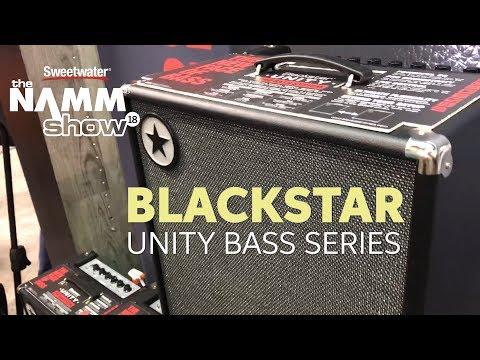 Blackstar Unity Bass Series Overview at Winter NAMM 2018