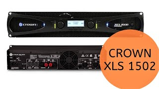 New Crown XLS 1502 Amplifier install tutorial with the Denon AVR X4400H. Atmos too!