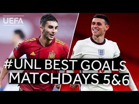 TORRES, FODEN: #UNL BEST GOALS, Matchdays 5&6