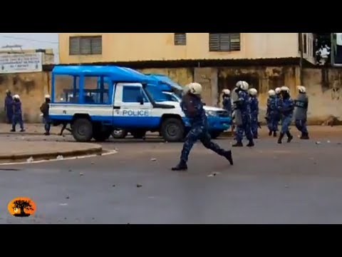 BREAKING: Protesters in Togo clash with police