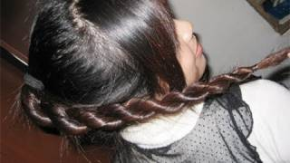 How to: 2-Strand Twist Rope Braid Hairstyle Hair Tutorial
