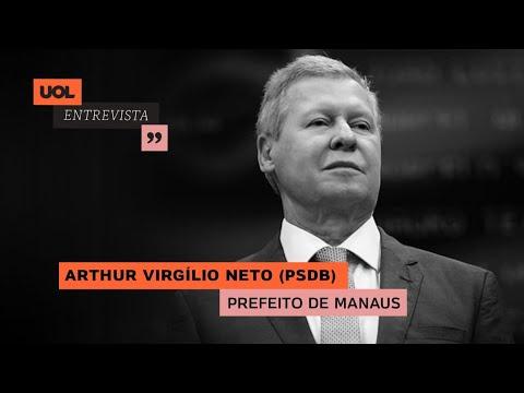 PREFEITO DE MANAUS, ARTHUR VIRGÍLIO (PSDB) FALA DO COMBATE À PANDEMIA DE CORONAVÍRUS