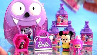 Disney Vampirina Backpack Surprise with Vampirina Surprise Monster House Toys for Girls