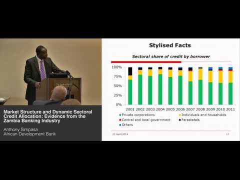Anthony Simpasa - Market Structure & Dynamic Sectoral Credit Allocation: Zambia