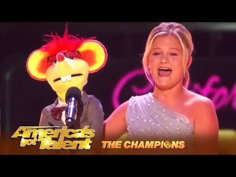 Darci Lynne: AGT Winner's FIGHTS For The World Title! WOW! | America's Got Talent: Champions