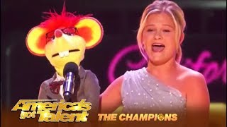 Darci Lynne: AGT Winner's FIGHTS For The World Title! WOW! | America's