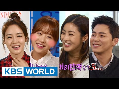 Entertainment Weekly | 연예가중계 - Park Boyoung, Kang Sora, Cho Jungseok (2015.11.06)