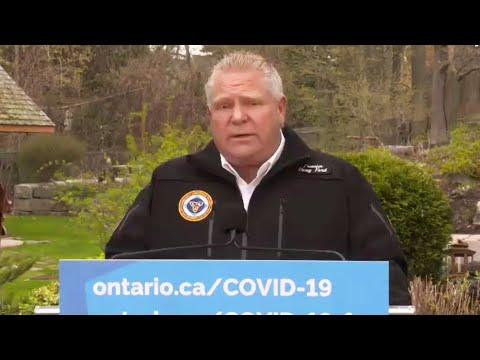 Ford calls on Ottawa to close 'massive loopholes' at Canada-U.S. borders
