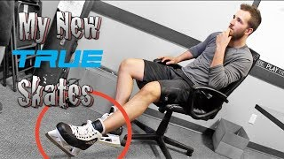 My New 2-Piece Goal Skates at TRUE Headquarters | Review