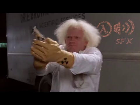 Back to the Future dubbed with Half-Life SFX