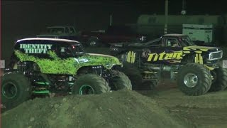Monster Truck Madness Racing(fri) @ Stockton Dirt Track 2016