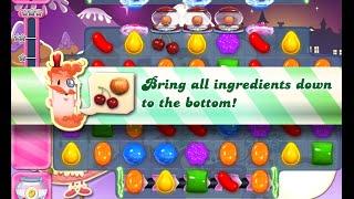 Candy Crush Saga Level 1400 walkthrough (no boosters)
