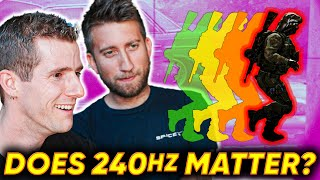 Download Does 240Hz Matter for Gaming ft. Gav from Slow Mo Guys Mp3 and Videos