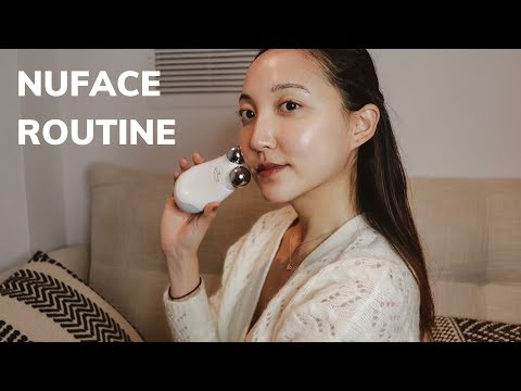 my-nuface-routine-|-gel-primer-alternatives-&-lifting-techniques-|-glowwithava