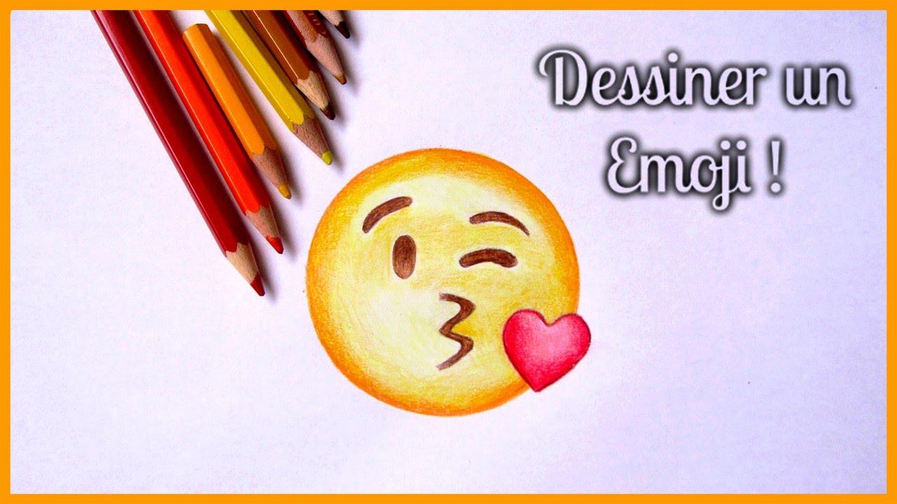 Comment dessiner un emoji special debutant youtube - Dessiner un bisou ...