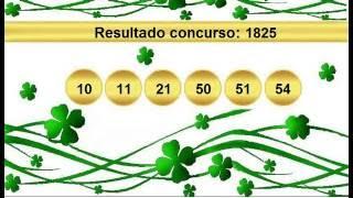 sorteio resultado mega sena 1825 Palpite 1826