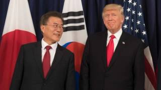 News Update US seeks to renegotiate South Korea trade deal 13/07/17