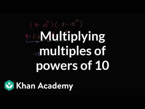 Multiplying Multiples Of Powers Of 10 | Numbers And Operations | 8th Grade | Khan Academy