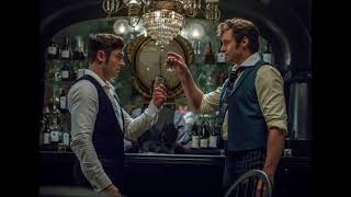 The Greatest Showman - Hugh Jackman & Zac Efron - The Other Side [Official Lyric Video] OST