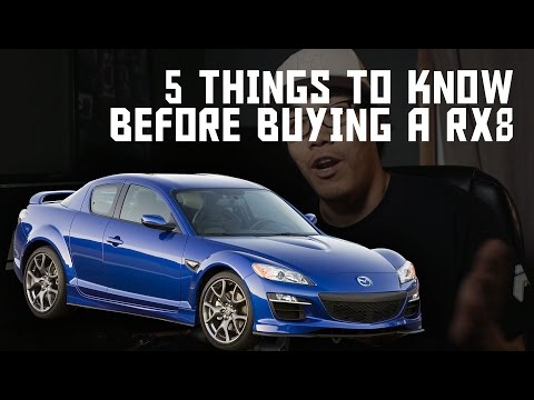 5 Things To Know Before Buying A Mazda RX8