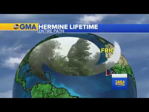 Tracking Tropical Storm Hermine and New Hurricane Newton