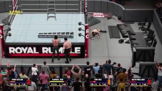 Seth Rollins vs The Miz vs Finn Bálor vs Samoa Joe