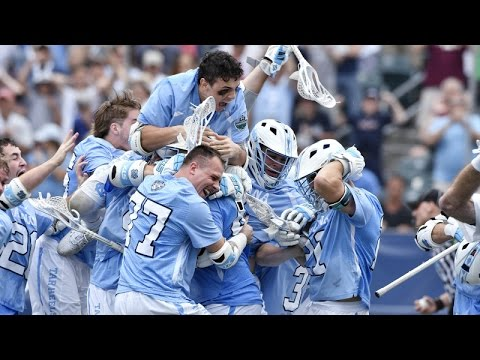 UNC Men's Lacrosse: Tar Heels Drop Maryland in OT for National Championship