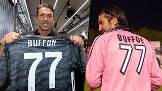 Why Gianluigi Buffon refused the first number on the shirt and took the 77th number
