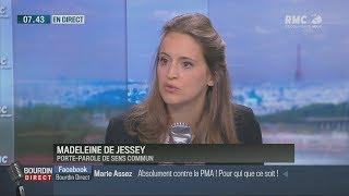 Madeleine de Jessey : «La PMA prive délibérément un enfant de père» (RMC, 13/09/17, 7h43)