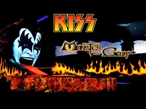 #940 KISS Glow In The Dark MONSTER MINI GOLF & MUSEUM Of Rare KISS Memorabilia! - LAS VEGAS (3/4/19)
