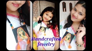Handmade Jewelry diy | Handcrafted Necklace | হাতে তৈরি গয়না