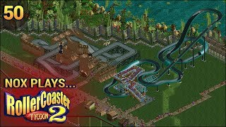 Nox Plays... Rollercoaster Tycoon 2: Time Twister | #50: Prehistoric - Jurassic Safari, Pt. 2