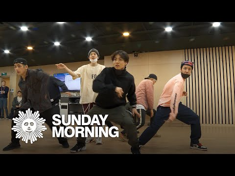BTS rehearses choreography of