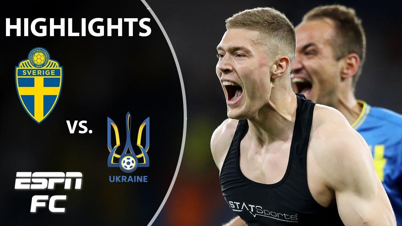 Sweden vs Ukraine result: Dovbyk goal sets up England Euro 2020 ...