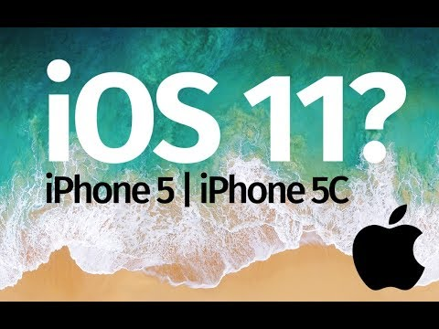 iOS 11 for iPhone 5 or iPhone 5C , iPhone 4S?