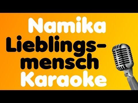 Namika - Lieblingsmensch - Karaoke