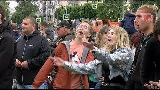 День молодёжи отметили на центральной площади Уссурийска