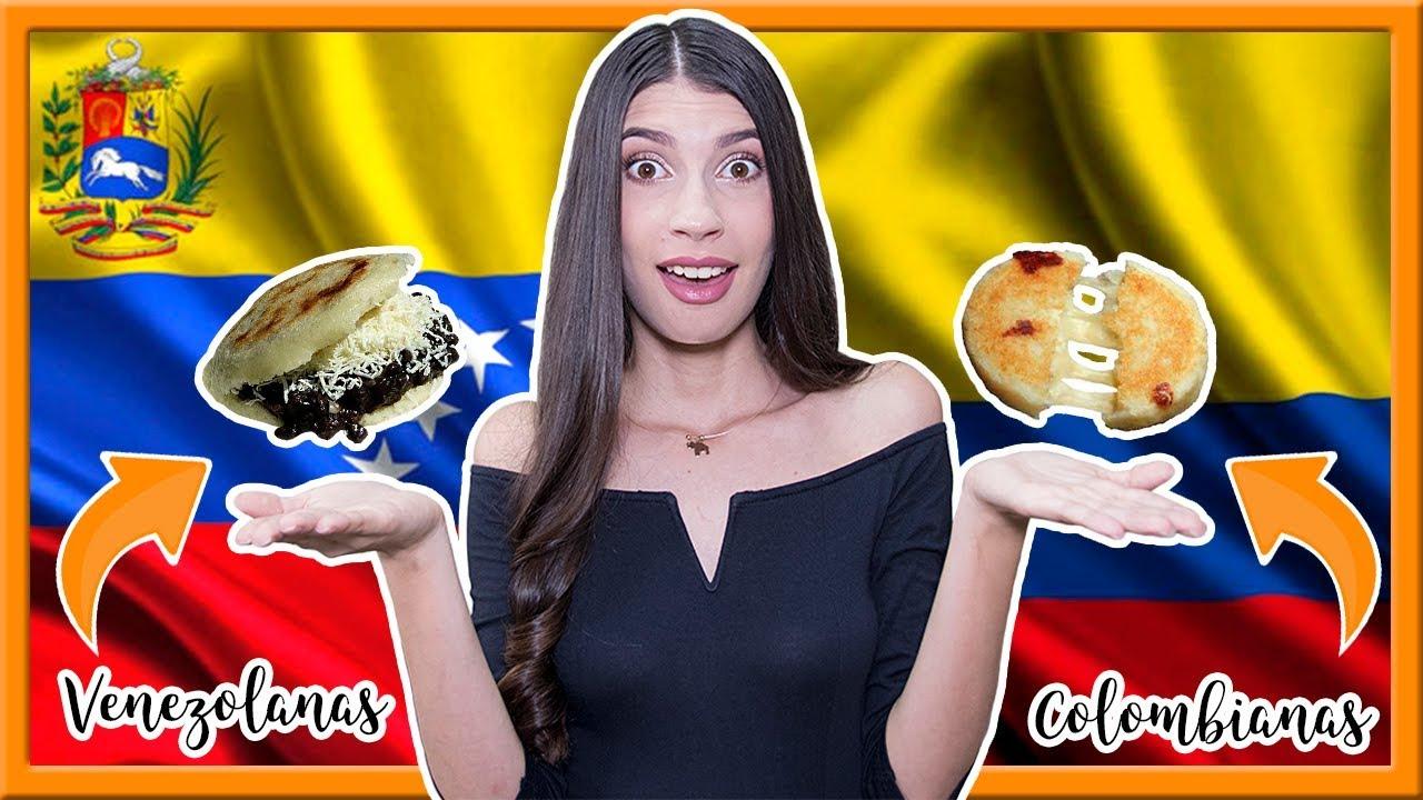 Arepas Colombianas Vs Venezolanas Zinahyd Youtube