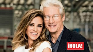 WORLD EXCLUSIVE: Richard Gere and Alejandra Silva are married