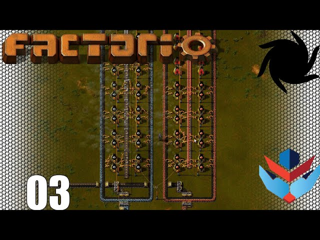 Factorio 1.0 Multiplayer 1K SPM Challenge - 03 - Beginning Automation