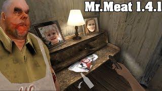 Быстрое прохождение Mr.Meat на средней сложности! Horror game! Мясник Гренни!
