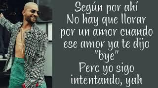 Maluma ~ Perdón (feat. Yandel) ~ Letra