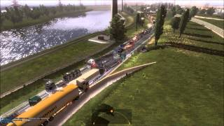 ETS2 Multiplayer | Traffic Jam (Euro Truck Simulator 2)