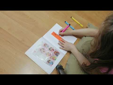 Рисуем по клеточкам - простая косичка - как развлечь ребёнка на карантине #СИДИМДОМА